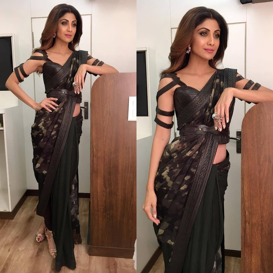 5 times Shilpa Shetty gave us serious saree goals – Fashion fun India