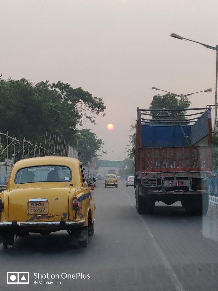 Sunrise in Kolkata taken from one plus 6
